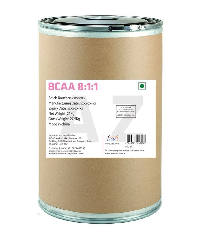 Branched Chain Amino Acid  BCAA  8 1 1